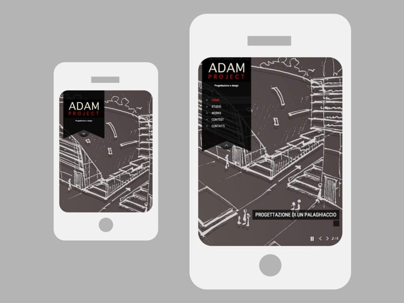 Sito web AdamProject