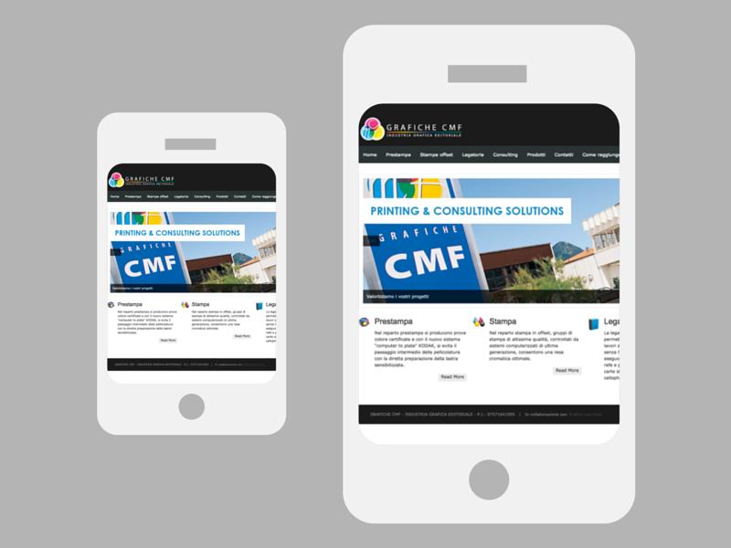 Sito web CMF 01