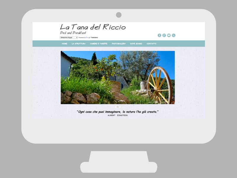 Sito web La Tana del Riccio