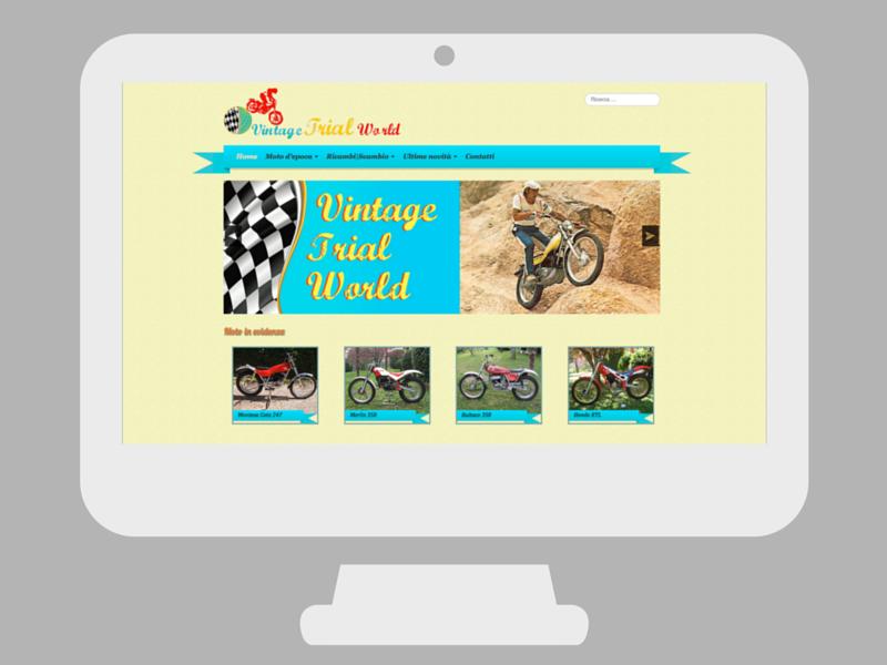 Sito web Vintage Trial